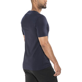 Icebreaker Anatomica SS V-Neck Shirt Herren midnight navy